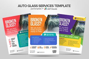 Auto Glass Services Template