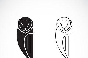 Vector of an owls design. Bird Icon.