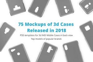 3d IMD Phone Case Mockups Bundle