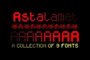Astalamet Pro - 9 fonts