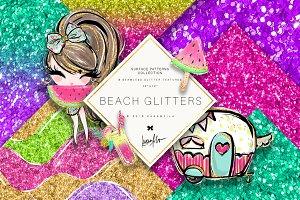 Glitter Waves Patterns