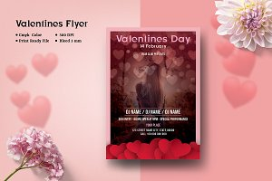 Valentines Day Party Flyer V946