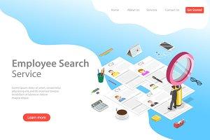 Employee search service