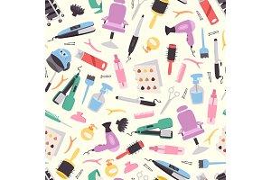 Hairdressing equipment seamless