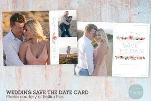 AW024 Save the Date Card Template