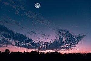 Deltona Florida dramatic sunrise