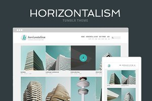Horizontalism Tumblr Theme