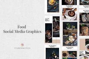 Food Animated Instagram Stories