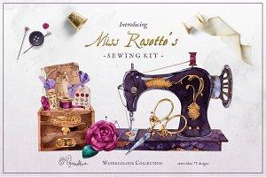 Miss Rosette's Sewing Kit