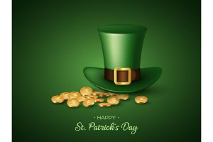 St. Patricks Day greeting holiday