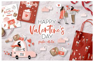 Valentine's Day - graphic collection