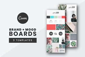 Brand and Mood Board Templates