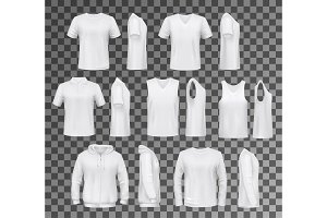 Male clothes tops, shirts and hoodie