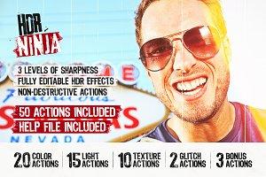 HDR Ninja - 50 Photoshop HDR Actions