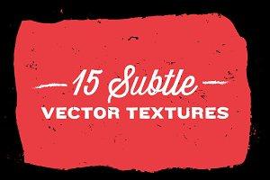 15 Subtle Vector Textures