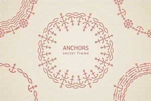 5 Monoline Anchor Frames