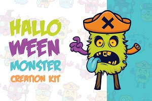 Halloween Monster Creation Kit