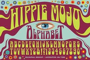 Hippie Mojo Alphabet