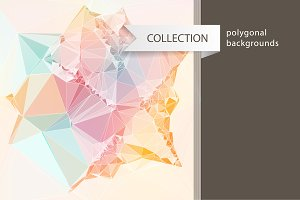 10+ polygonal backgrounds