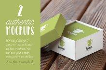 Authentic Box Mockup Vol. 01