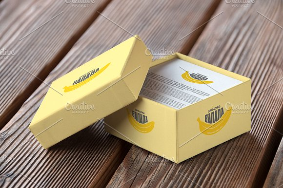 Authentic Box Mockup Vol. 01 in Product Mockups - product preview 2