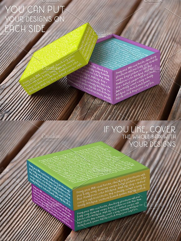 Authentic Box Mockup Vol. 01 in Product Mockups - product preview 3