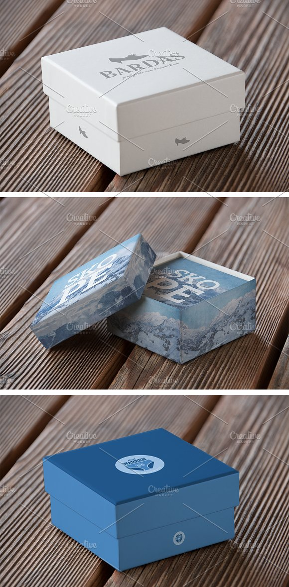 Authentic Box Mockup Vol. 01 in Product Mockups - product preview 4