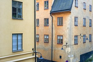 Old-town view. Stockholm, Sweden