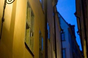 Old Stockholm street, Sweden