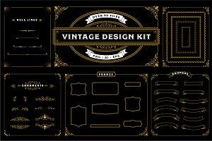 Vintage Design Kit