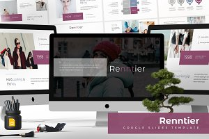 Renntier - Google slide Template