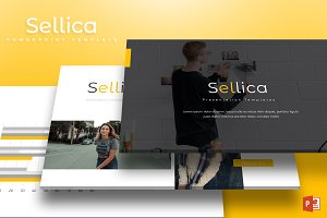 Sellica - Powerpoint Template