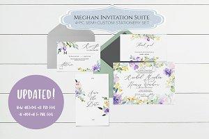 Meghan Wedding Invitation Template