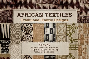 Africa Textile Fabric Tiles