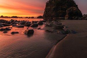 Sunset at Camel Rock