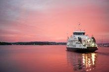 Cruise liner, Oslo, Norway