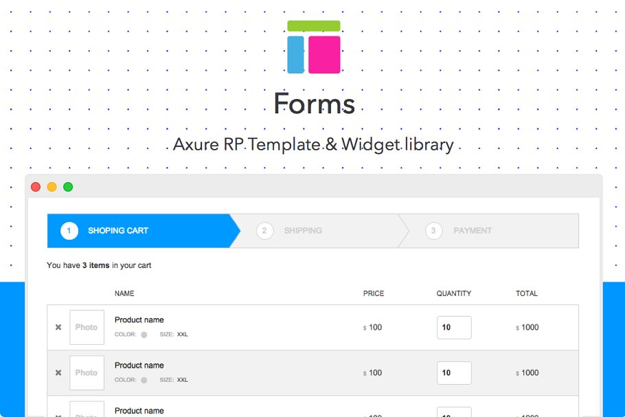 Axure Template Forms Website Templates Creative Market
