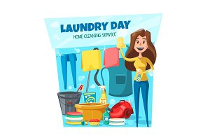 Home laundry and washing service