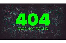 404 Error Page ~ Illustrations ~ Creative Market