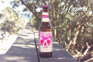 Formentera Beach Walkway   Beer