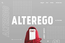 Alterego by  in Sans Serif Fonts