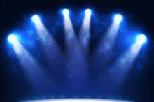 Illuminated Podium for Presentation