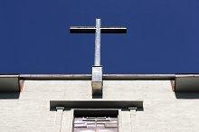 Old  church clock  in Oslo, Norway