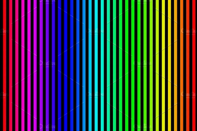 Fund vertical lines. Various colors - Arts & Entertainment
