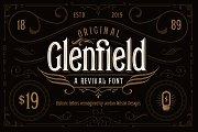Glenfield - A Vintage Typeface