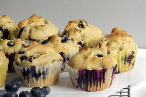 Blueberry Muffin Snack