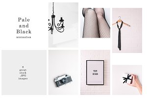 Pale and Black minimalism bundle