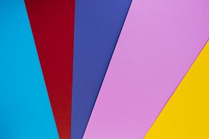 Multicolor background from cardboard