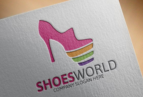 Shoes World Logo