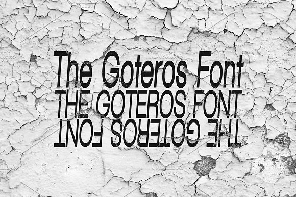Font | The Goteros Font in Sans-Serif Fonts - product preview 1
